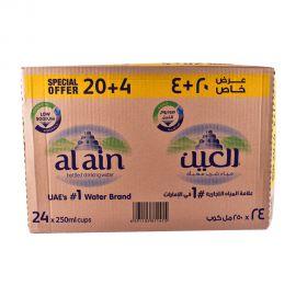 Al Ain Water 250mL (20+4)