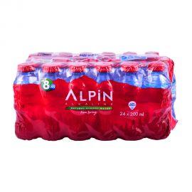Alpin Alkaline Water 24x200mL