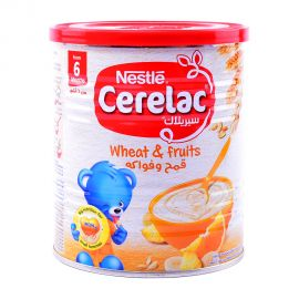 Cerelac Wheat & Fruits 400g