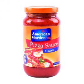 American Garden PIZZA SAUCE TRADITIONAL GLASS 14OZ