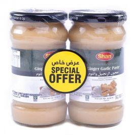 Shan Ginger Garlic Paste 2x310gm