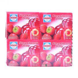 Greens Jelly Strawberry 80gm