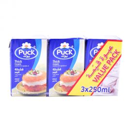 Puck Thick Cream 3x250m Value Pack