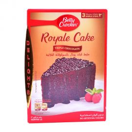 Betty Crocker Triple Choco Royal 610gm