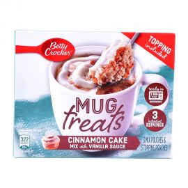 Betty Crocker Mug Treat Cinnamon 204gm