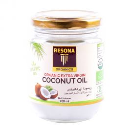 Resona Organic Extra Virgin Coconut Oil 200ml