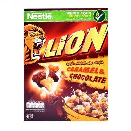 Lion Caramel & Chocolate Cereal 400gm