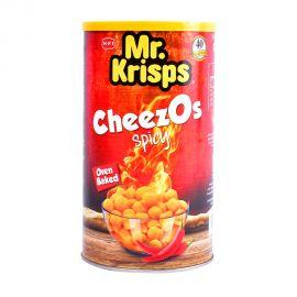 Mr Krisps Cheezos Canister 80gm