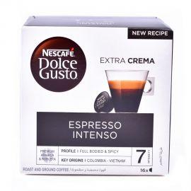 Nescafe Espresso Intenso Capsules 128gm