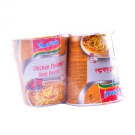 Indomie Chicken Flavour Gout Poulet Instant Cup Noodles 60g x 4pcs