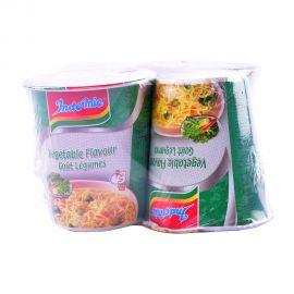 Indomie Vegetable Flavour Gout Legumes Instant Cup Noodles 60g x 4pcs