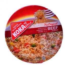 Koka Bowl Noodles Beef 90gm