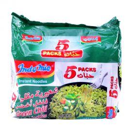 Indomie Green Chili Fried Instant Noodles 85g x 5pcs