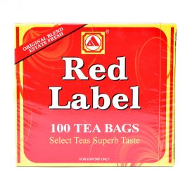 Red Label Tea Bags 100s