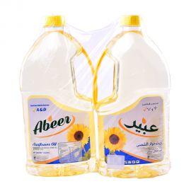 Abeer Sunflower Oil 2x1.8ltr