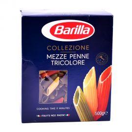 Barilla La Mezze Penne Tricolore 500gm