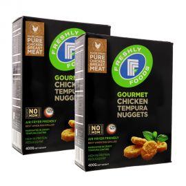 Freshly Foods Tempura Chicken Breast Nuggets 2*400GM