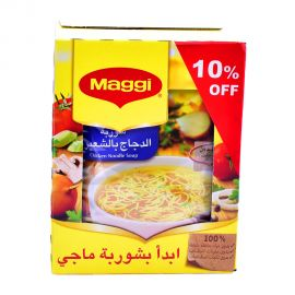 Maggi Soup Chicken Noodles 12x60gm 10% Off