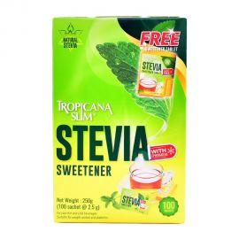 Tropicana Slim Stevia sweetener 2.5gm 100's