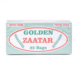 SAFA GOLDEN ZATAR tea bags 25x2GM