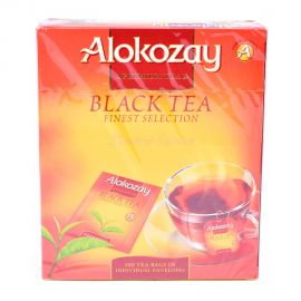 Alokozay Black Tea Bag 100s Env