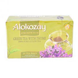 Alokozay Green Tea W/thyme 25's Sach