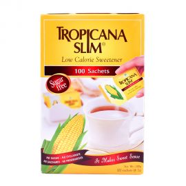 Tropicana low calorie sweetener 100's