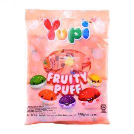 Yupi Fruity Puff Gummy 120gm