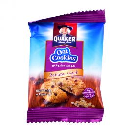 QUAKER OATS COOKIES RAISIN 9GM
