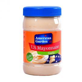 American Garden Mayonnaise Garlic 16oz