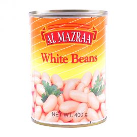 Al Mazra White Kidney Beans 400gm