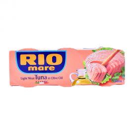 Rio Light meat Tuna In Olive Oil 3x80gm