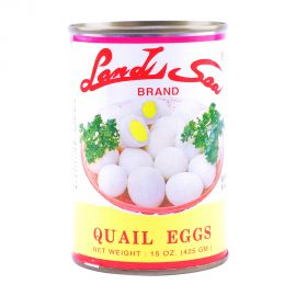 Land Sea Quail Eggs 425gm