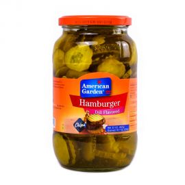 American Garden Pickle Humburger Dill Chip 32oz