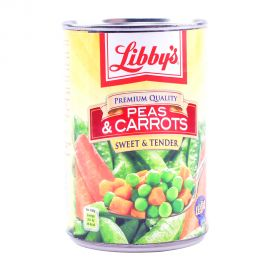 LIBBYS PEAS&CARROTS 425GM