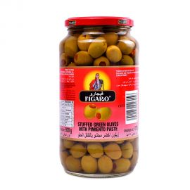 Figaro Stuffed Grn Olive 575gm