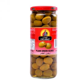 Figaro Plain Green Olives 270gm