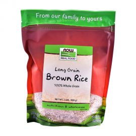 Rice Now Brown Long Grain Natural 908gm