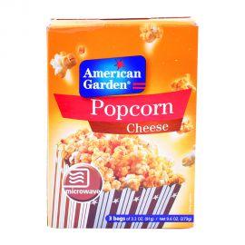 American Garden Microwave Popcorn Cheese 3x3.2oz