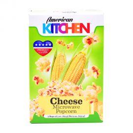 American Kitchen Microwave Popcorn Cheese 3x3oz