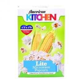 American Kitchen Microwave Popcorn Lite 3x3oz
