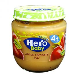 HERO BABY APPLE COMPOTE 125GM