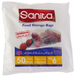 NAPCO SANI NO:6 FOOD STORAGE SMALL BAG 50S