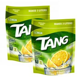 TANG LEMON POUCH 2x375GM  PROMO PACK