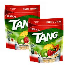 TANG TROPICAL POUCH 2x375GM PROMO PACK